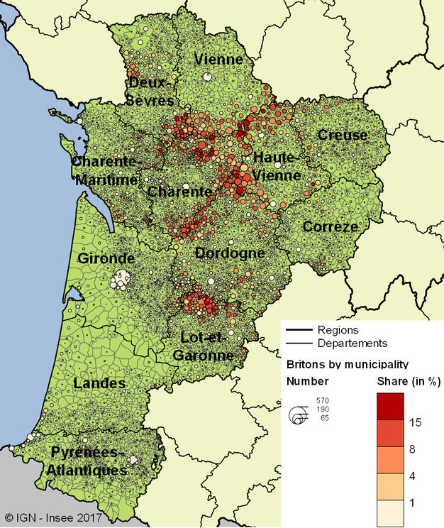 A quarter of Britons living in France are in NouvelleAquitaine