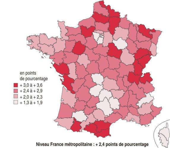 Les conséquences de la crise sur l'emploi dans les régions - Insee Première - 1295