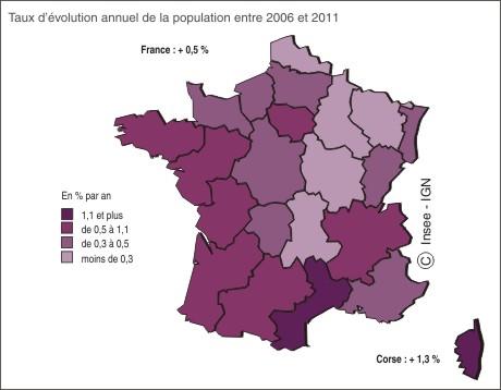 La population augmente principalement gr ce l arriv e de - Solde ete 2015 france ...