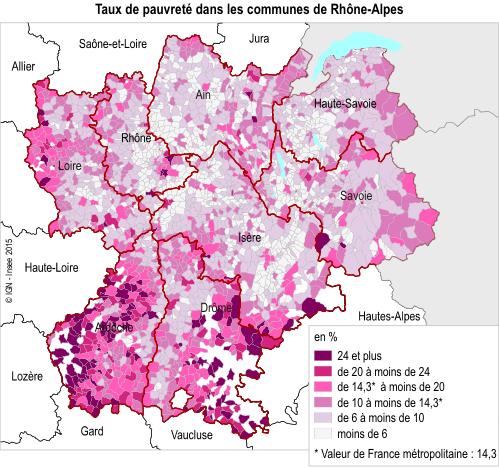 Rhone Alpes Une Region Riche En Depit D Inegalites Territoriales