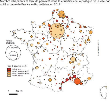 Marseille concentre la moiti de la population des quartiers de la politique de la ville de la - Salon de provence nombre d habitants ...