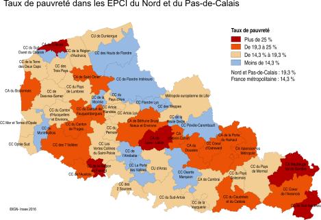 d157204ec51 graphique Figure 1 – La pauvreté touche entre 4 % et 29 % de la population  selon les territoires