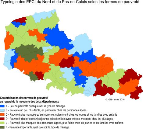 2b5aca447ae graphique Figure 4 – Six groupes de territoires pour décrire les formes de  pauvreté