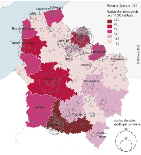14 000 emplois salariés dans les activités sportives en Hauts-de ...