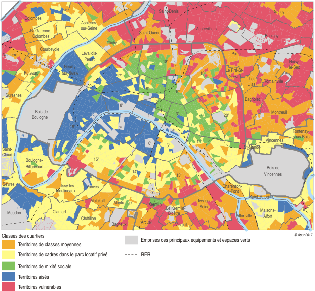 Quartiers Politique De La Ville Paris