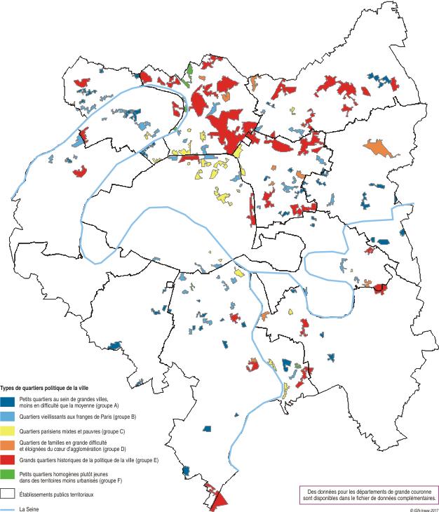 Carte Quartier Prioritaire De La Politique De La Ville