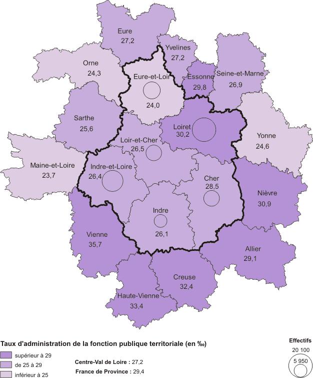 598d0814877 graphique Taux d administration de la fonction publique territoriale (en ‰)