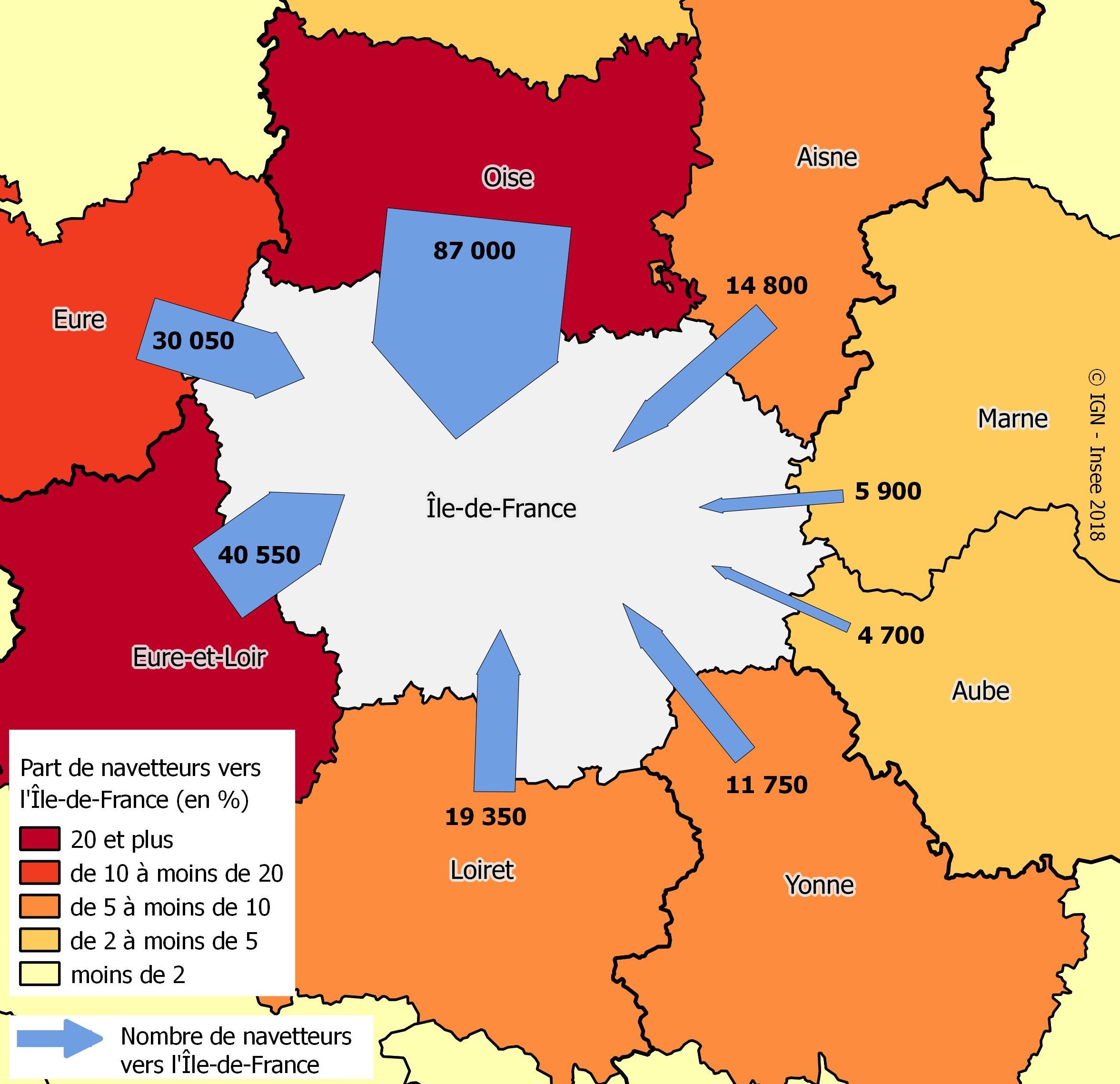 Ile de France département