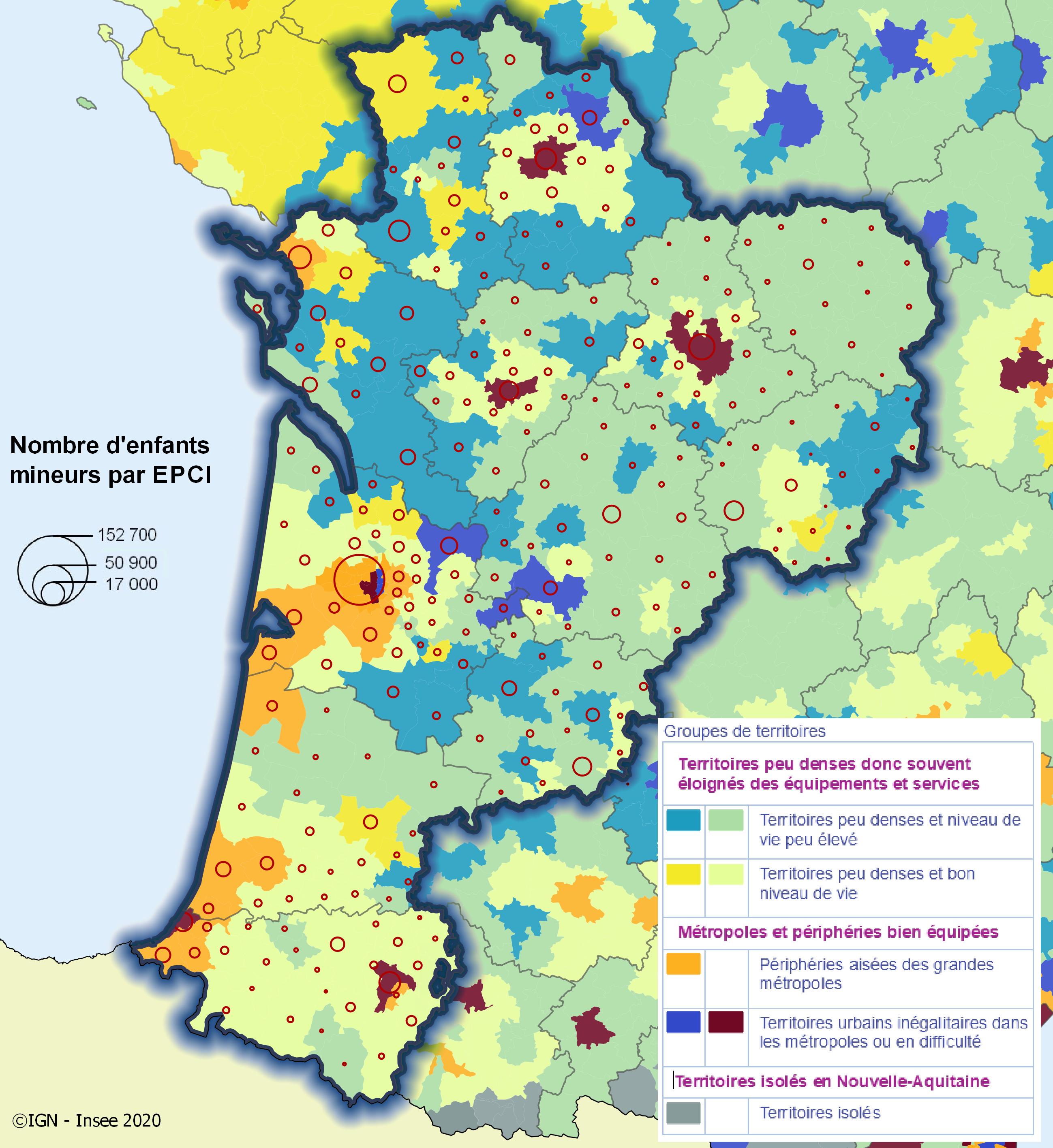 Qualité de vie des enfants en Nouvelle-Aquitaine, reflet des inégalités territoriales